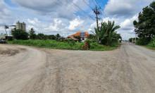 Đất 2 mặt tiền đường vào cảng Giao Long Bến Tre, 1355m2, SHR
