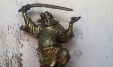 Tượng thần chung quỳ, tượng phong thủy 23cm