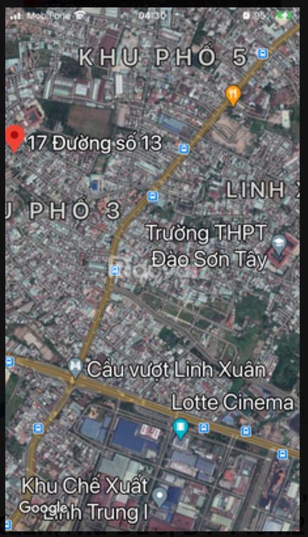 Nhà mới 3 tầng, 65m2,17 đường 13, P Linh Xuân, Thủ Đức