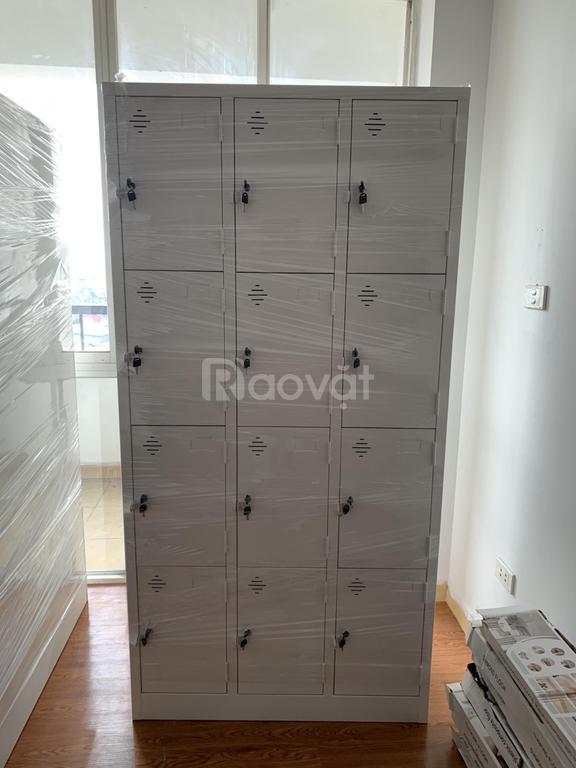 Tủ locker 12 ngăn đựng đồ cá nhân