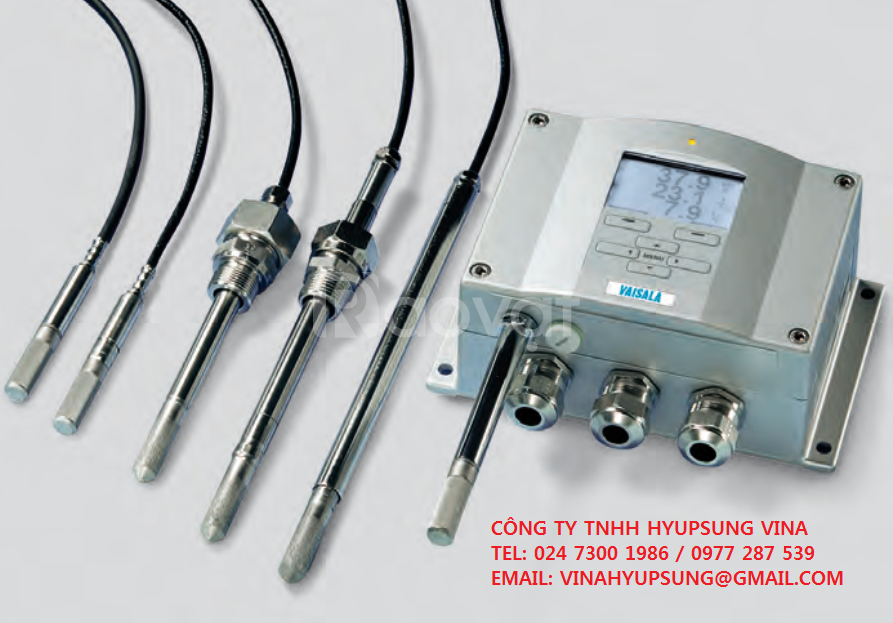 Vaisala thiết bị đo nhiệt độ và độ ẩm