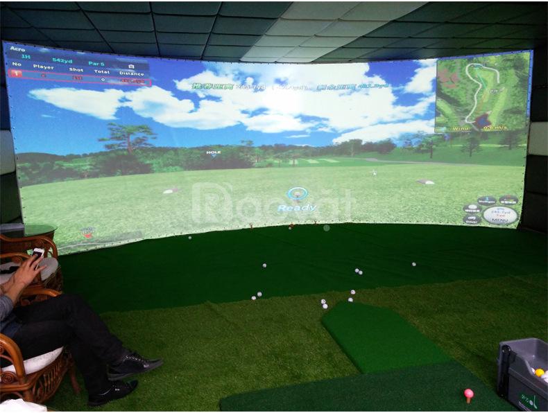 Bạt màn hình chơi golf 3d, màn hình golf 3d