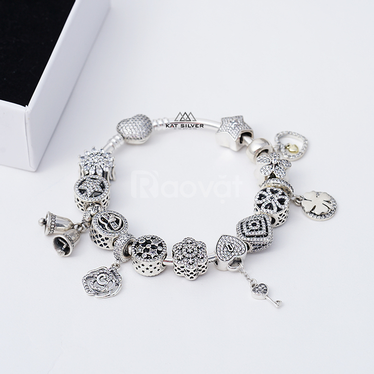 Vòng charm bạc 925 cho người mệnh Kim CharmStore