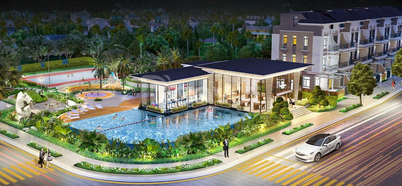 Căn nhà liền kề kế góc dự án Verosa Khang Điền cần bán, giá tốt, 6x17m