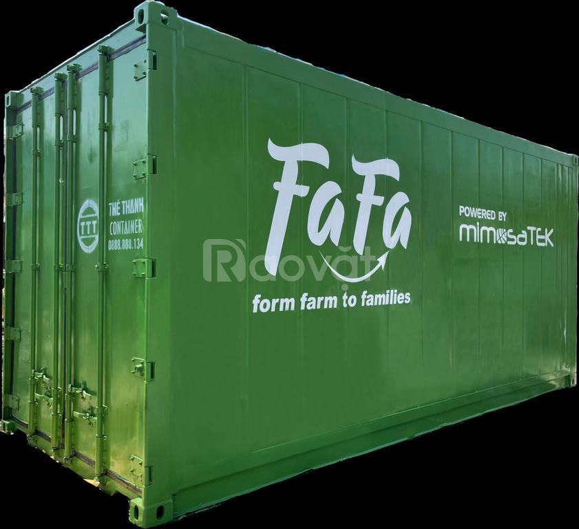 Container lạnh 20feet máy Daikin