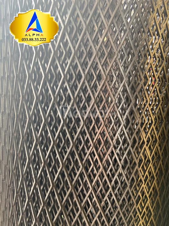 Lưới mắt cáo, lưới hình thoi dây 1.5 ly mắt 10 × 20mm, hàng có sẵn