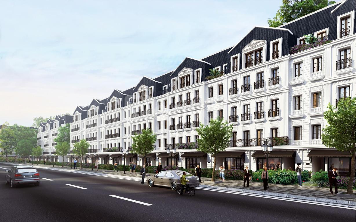 Shophouse trung tâm quận Cầu Giấy, Hà Nội, 114m2