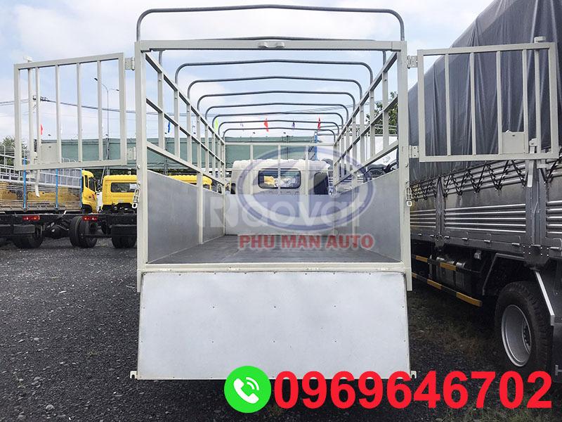 Xe tải Jac 3t5 thùng 4m4 động cơ Isuzu