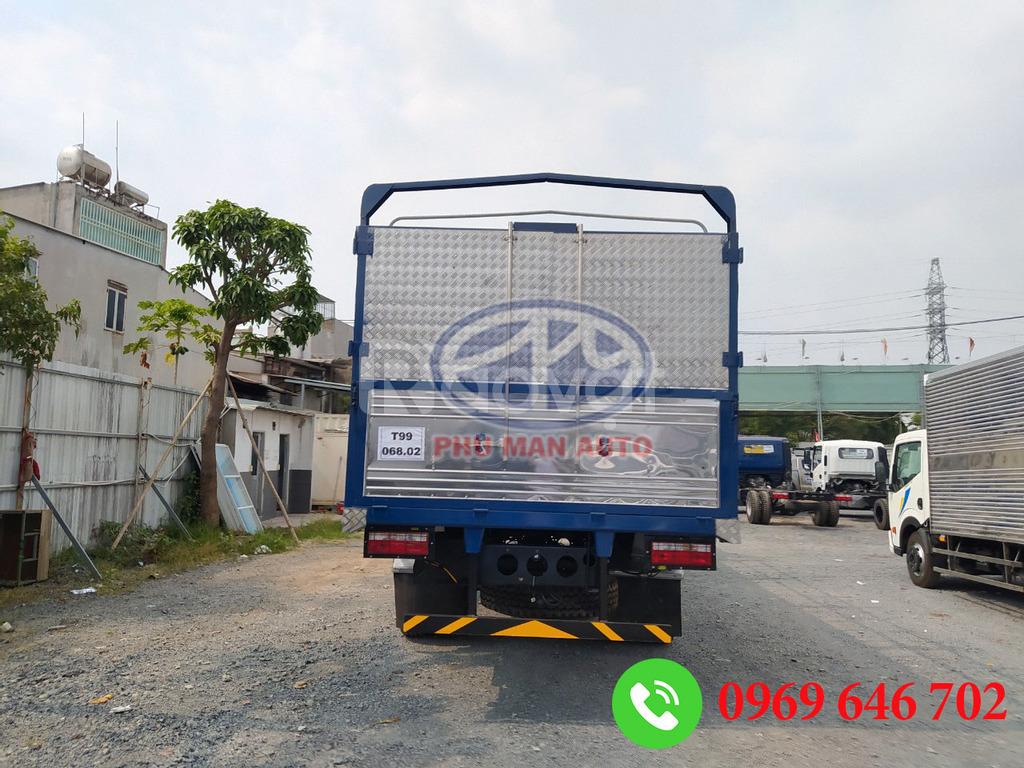 Xe tải Jac A5 nhập khẩu thùng dài 9m6