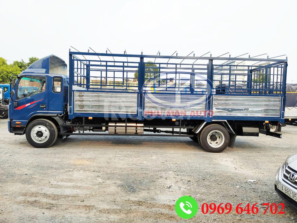Xe tải Jac 7T, 8T thùng dài 7m6 động cơ Cummins