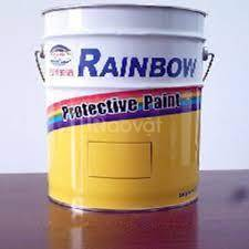 Sơn giao thông Rainbow 1801 màu vàng 18