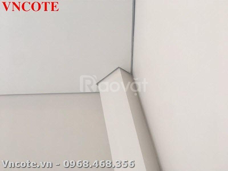 Thanh nẹp nhôm shadowline dùng trong công tác bê tông