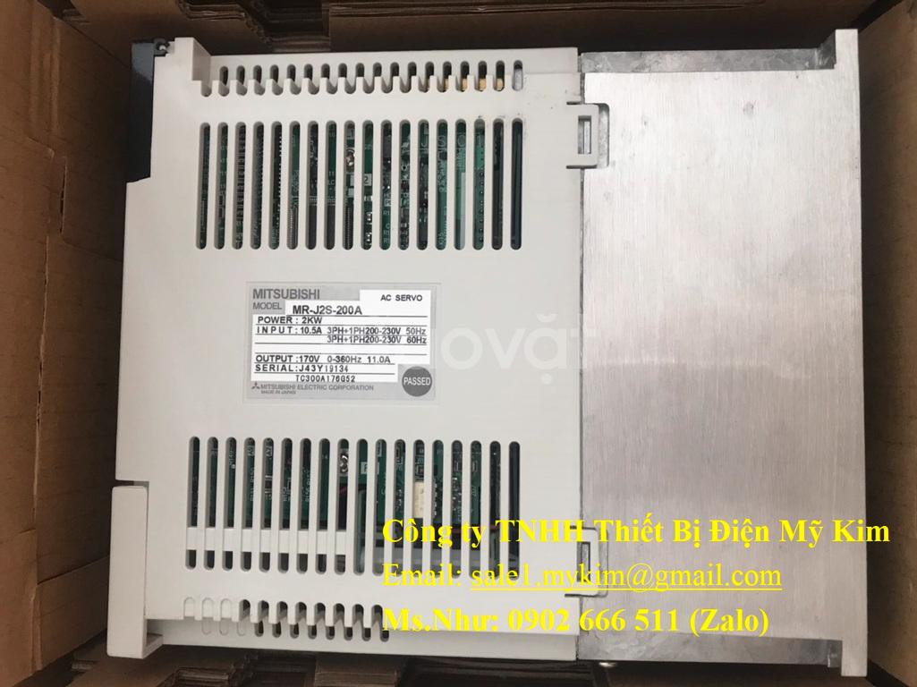 AC Servo Motor Mitsubishi MR-J2S-200A chính hãng giá tốt