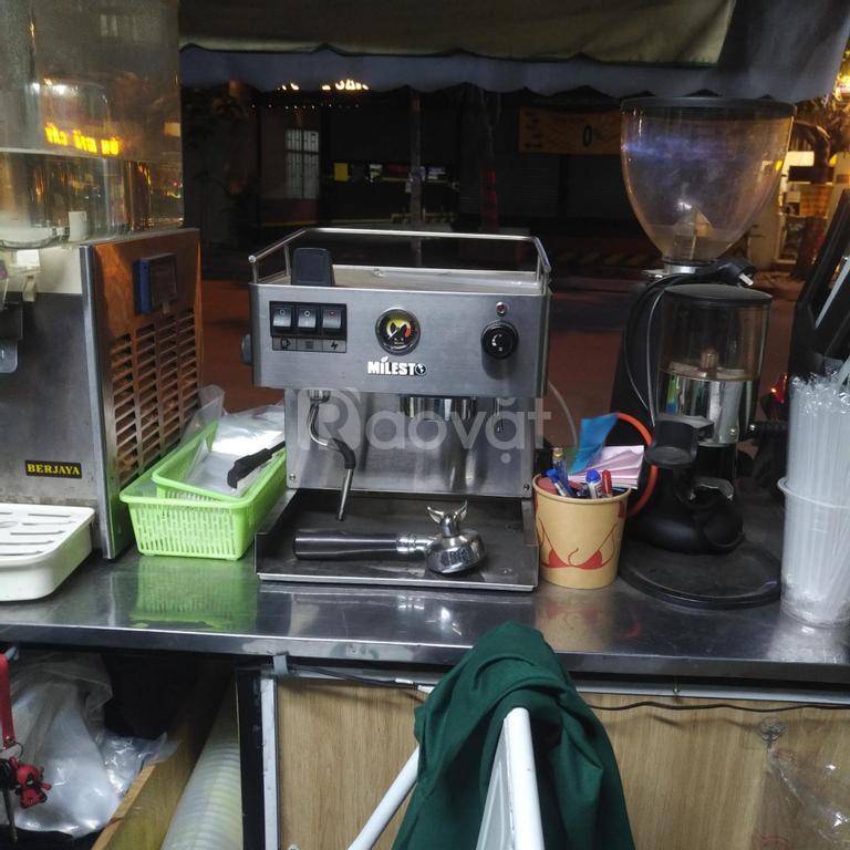 Thanh lý nguyên xe cafe pha máy