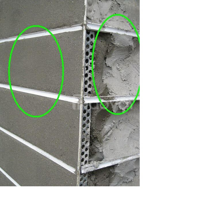 Nẹp nhựa chỉ âm tường tạo khe trang trí GL-20