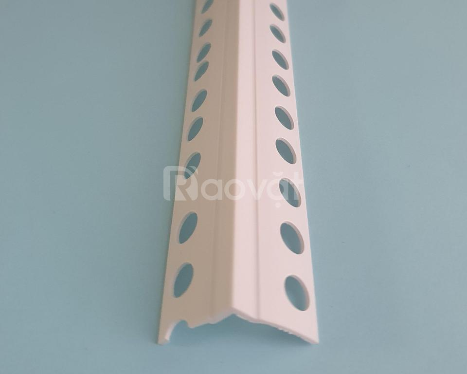 Nẹp nhựa trát góc âm ,dùng trong tô trát góc lõm VA-20