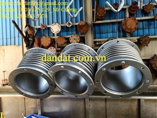 Khớp nối mềm cho ống khói bơm diesel, khớp nối mềm máy phát điện