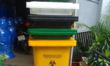 Thùng rác y tế 240 lít nhựa HDPE