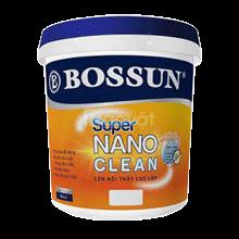 Sơn nội thất Bossun super nano clean, lau chùi vượt trội