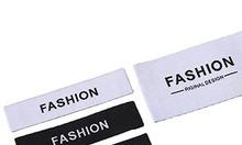 Nhãn dệt thời trang thiết kế theo yêu cầu