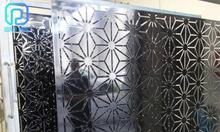 Hệ mặt dựng CNC trang trí sảnh, mặt tiền, quầy lễ tân sang trọng