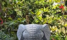 Khuôn chậu con voi nhỏ
