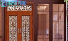 Dịch vụ thi công, lắp đặt hoàn thiện bộ cửa đi cho nhà phố đẹp, bền