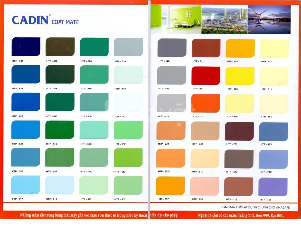 Đại lý sơn chịu nhiệt Cadin 300 độ chính hãng giá rẻ tại Tp HCM