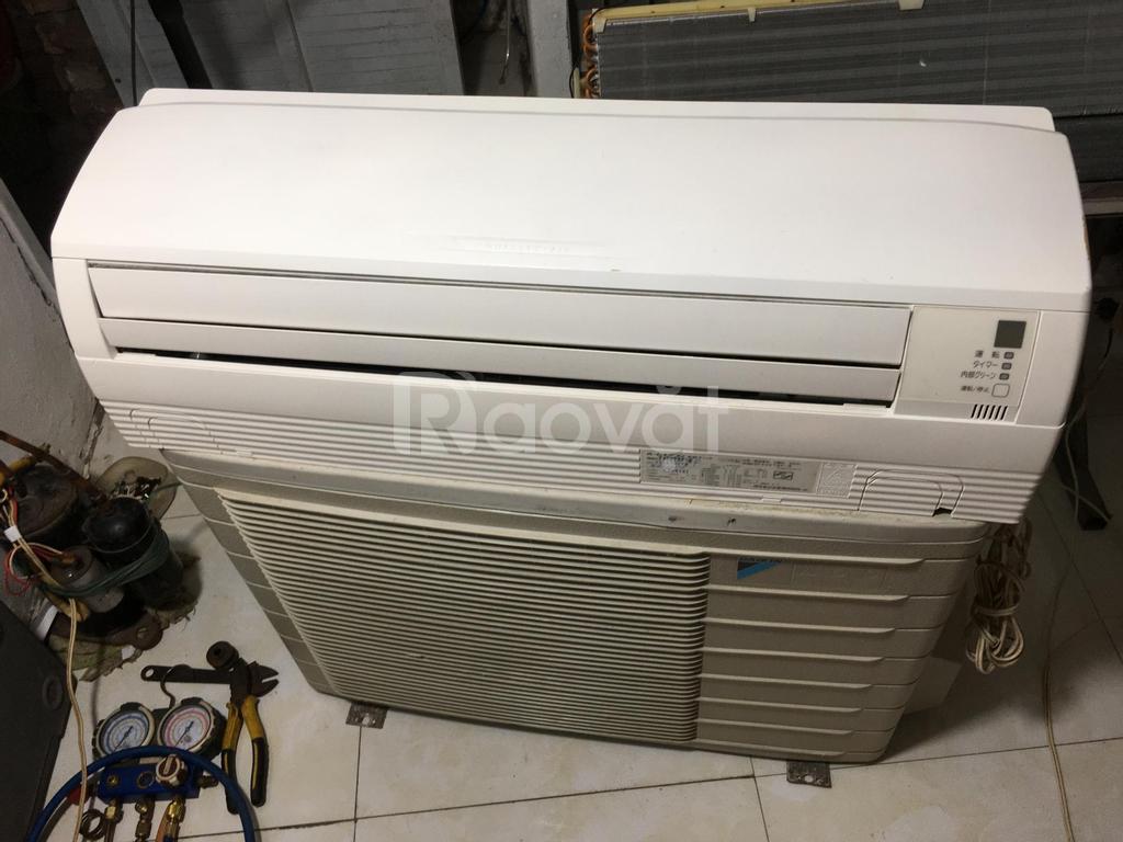 Điều hòa DaiKin Nhật nội địa F40, 16000BTU, Inverter, 2 chiều, giá rẻ