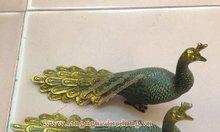 Tượng chim công bằng đồng phong thủy, tượng chim công