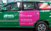Dịch vụ quảng cáo trên Taxi toàn quốc giá rẻ
