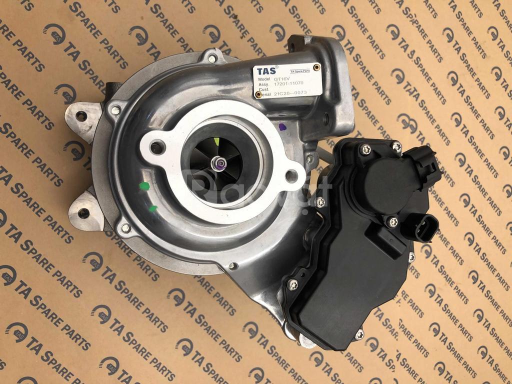 Turbo tăng áp động cơ xe ô tô Toyota Hilux, Innova, Fortuner