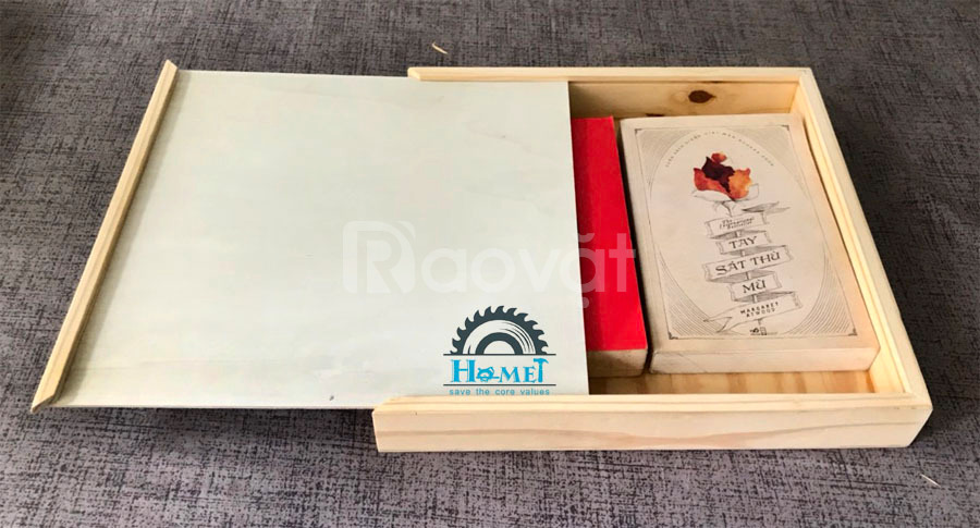 Hộp album cưới bằng gỗ