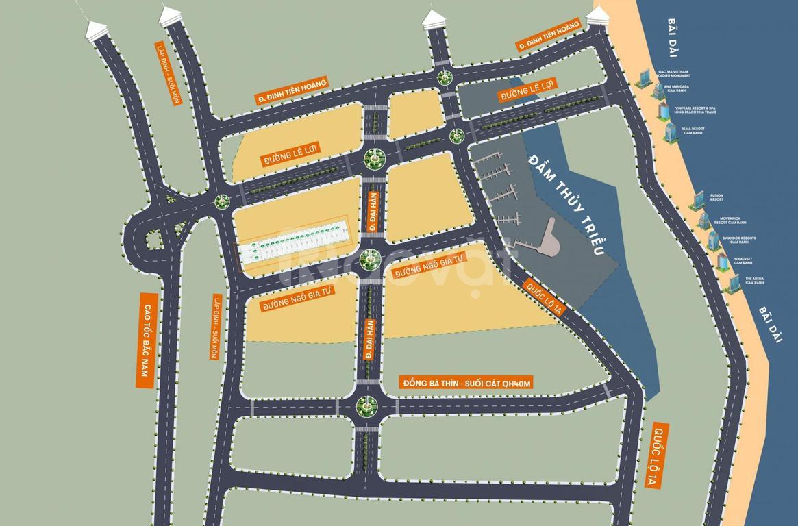 19 lô đất nền Lập Định - Suối Môn (ở đô thị) Cam Lâm - Khánh Hòa