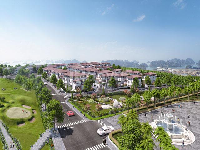 Bán Villa đẹp trên đồi FLC view kỳ quan Vịnh Hạ Long và sân golf