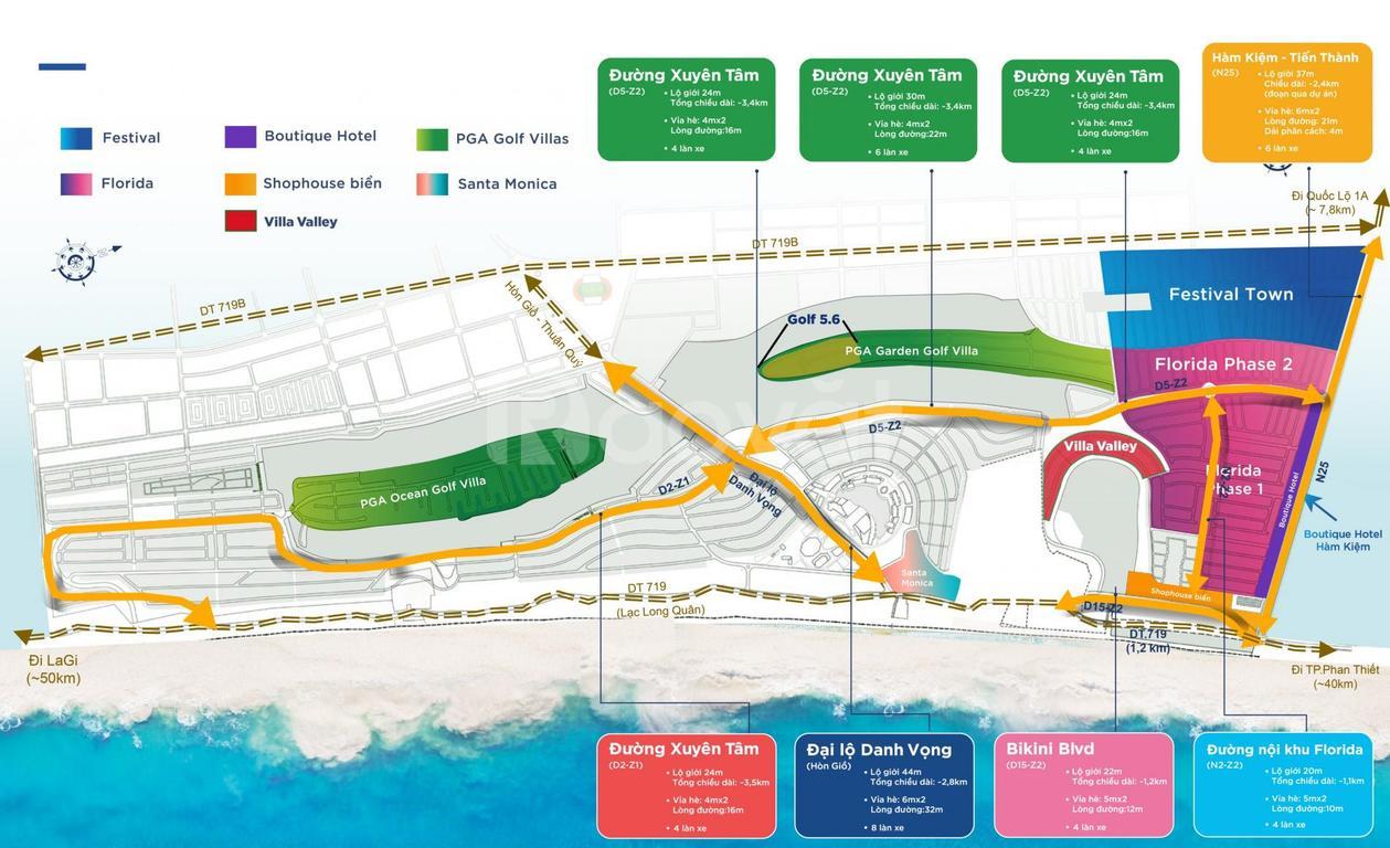 Bán biệt thự biển, vila Golf Nova World Phan Thiết