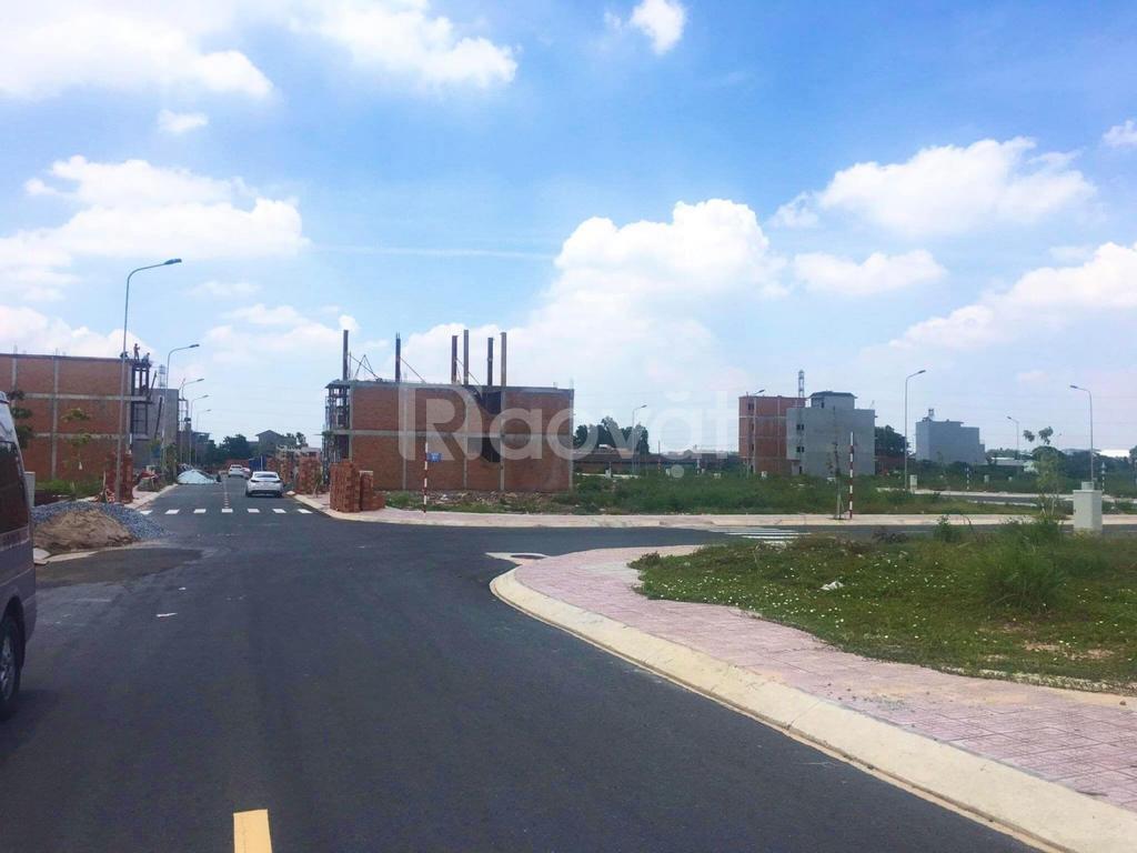 Bán đất nền dự án KDC đường Tỉnh Lộ 10 gần chợ Cầu Xáng, sổ hồng riêng