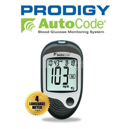 Máy đo đường huyết prodigy autocode