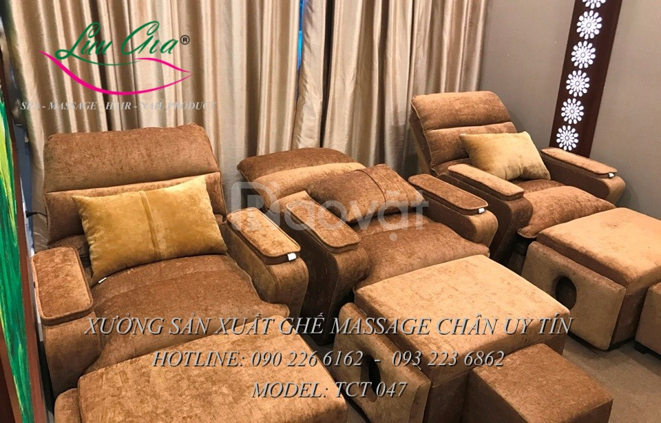 Ghế matxa chân cố định tại Thái Bình