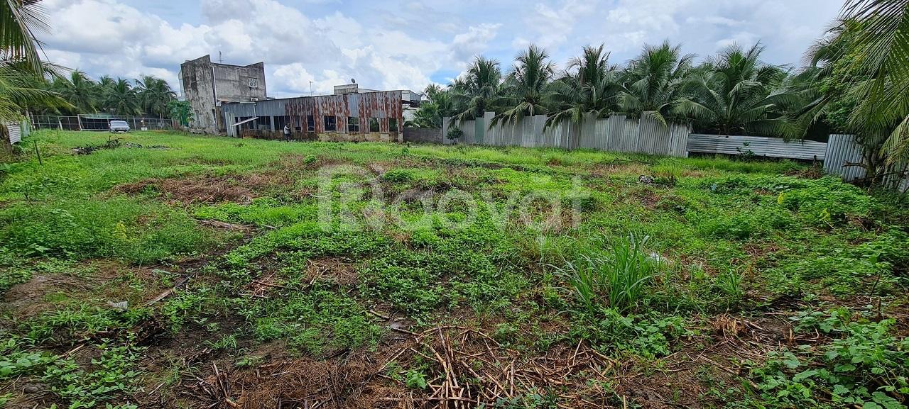 Đất mặt tiền QL57B, xã An Hóa, H.Châu Thành, 1787m2,SHR