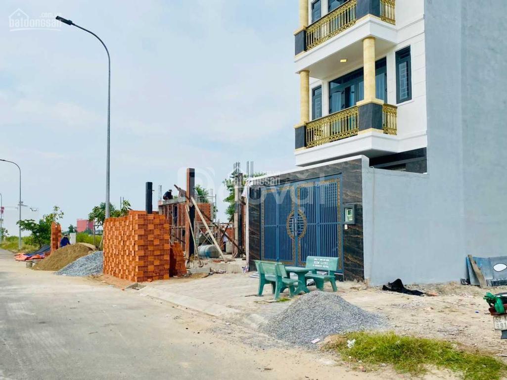 Bán gấp nền đất 85m2 MT đường Trần Văn Giàu nối MT Võ Văn Vân, sổ hồng
