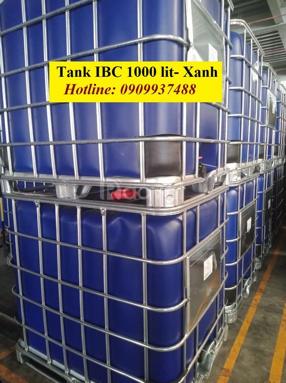 Bồn nhựa 1000 lit đựng hóa chất công nghiệp