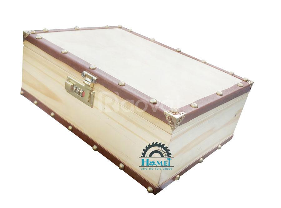 Hộp gỗ có khóa, sản xuất hộp gỗ theo yêu cầu