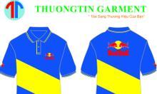 May áo thun đồng phục theo yêu cầu giá rẻ