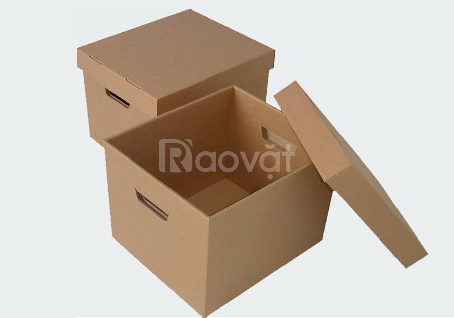 Cung cấp thùng carton khuyến mãi mùa covid
