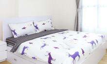 Bộ ga drap giường thun, nhiều mẫu hoa văn để lựa