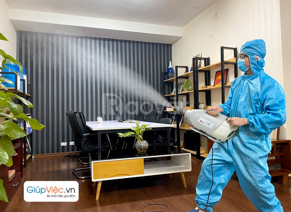 Dịch vụ phun khử khuẩn căn hộ