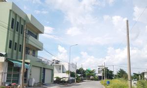 Bán cặp liền kề 10 x 26 đường số 8 KDC Tân Đô, Hương Sen Graden