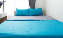 Bộ ga drap giường thun, trơn, nhiều màu