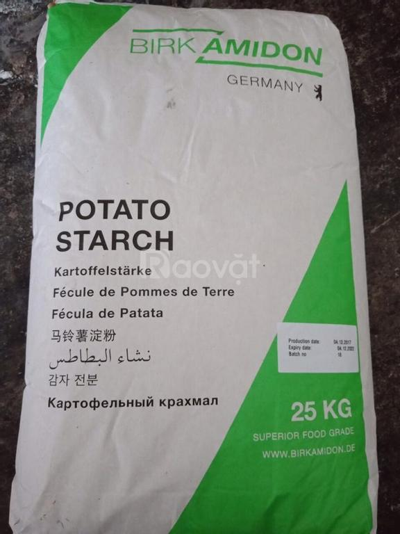 Tinh bột khoai tây trong công nghiệp